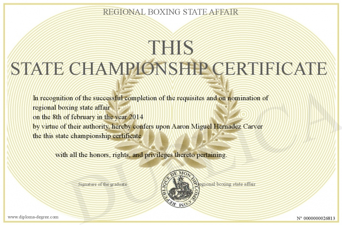 This-State-Championship-Certificate throughout Unique Certificate Of Championship