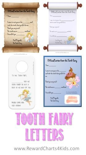 Tooth Fairy Letter | Free Printable in Fresh Tooth Fairy Certificate Template Free