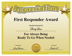 Top 10 List | Funny Certificates, Employee Awards, Funny inside Volunteer Of The Year Certificate 10 Best Awards