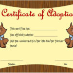 Toy Adoption Certificate Template : 13+ Free Word Templates Within Unique Cat Adoption Certificate Templates