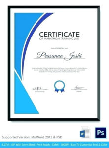 Training Certificate Format Word Service Dog Template Free in Quality Training Certificate Template Word Format