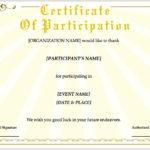 Training Certificate Template For Pages   Free Iwork Templates Inside Pages Certificate Templates