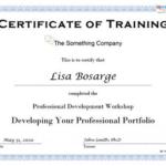 Training Certificate Template Word Format 7 – Best Templates Regarding Physical Fitness Certificate Template 7 Ideas