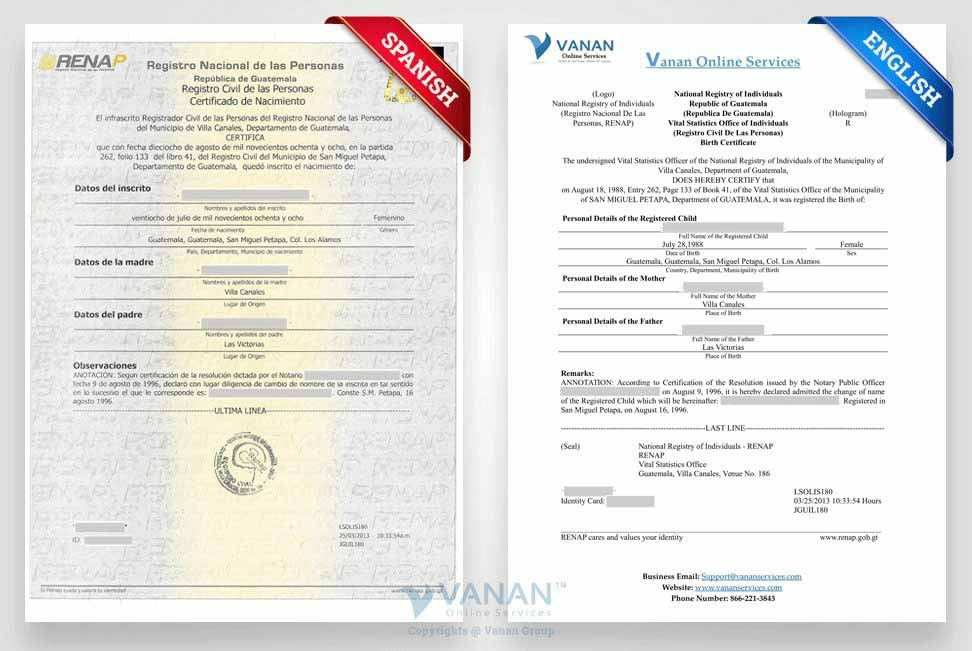 Translation Services with regard to Marriage Certificate Translation From Spanish To English Template