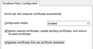 Update Certificates That Use Certificate Templates (3 for Update Certificates That Use Certificate Templates