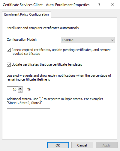 Update Certificates That Use Certificate Templates (8 Inside Update Certificates That Use Certificate Templates