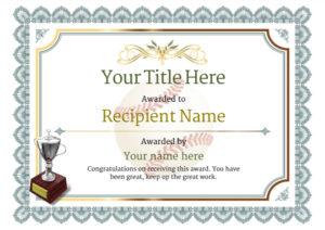 Use Free Baseball Certificate Templates  Awardbox Pertaining To Best Baseball Achievement Certificates