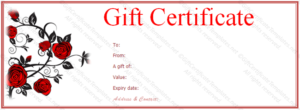 Valentine-Gift-Certificate-Template-Free-Red-Rose-Gift throughout Valentine Gift Certificate Template