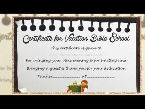 Vbs Certificate Of Completion in Best Lifeway Vbs Certificate Template