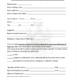 Veterinary Health Certificate Template (2) – Templates Intended For Veterinary Health Certificate Template