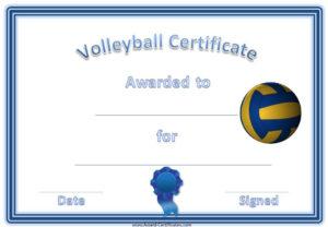 Volleyball Awards | Sports Awards, Baseball Award, Swimming pertaining to Volleyball Award Certificate Template Free