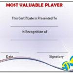 Volleyball Mvp Award Template | Award Template, Templates With Quality Volleyball Mvp Certificate Templates