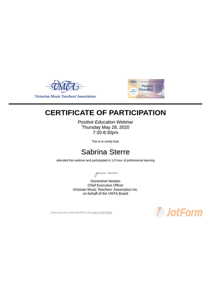 Webinar Certificate - Pdf Templates | Jotform with Dog Obedience Certificate Template Free 8 Docs