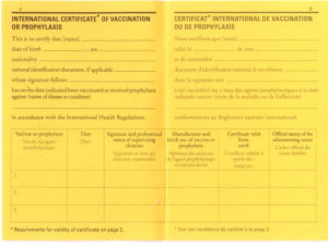 Who International Certificate Of Vaccination inside Best Certificate Of Vaccination Template