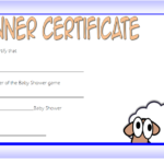 Winner Baby Shower Game Certificate Free Printable 1 Throughout Baby Shower Game Winner Certificate Templates