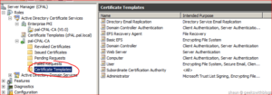 Working With Active Directory Certificate Service Via C# inside Fresh Active Directory Certificate Templates