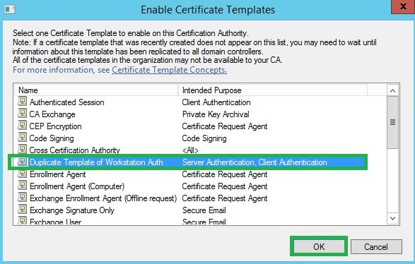 Workstation Authentication Certificate Template (1 with Best Workstation Authentication Certificate Template