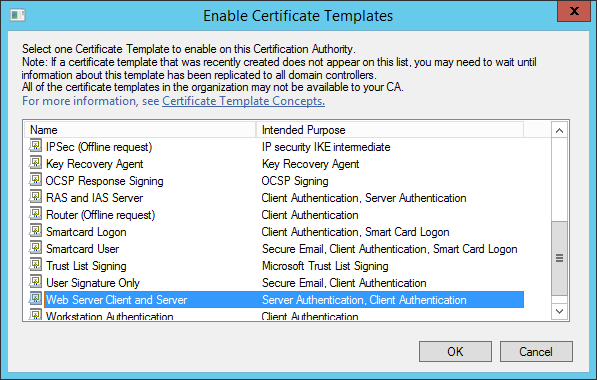 Workstation Authentication Certificate Template (2 regarding Workstation Authentication Certificate Template