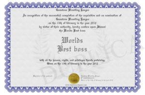 Worlds-Best-Boss intended for Best Worlds Best Boss Certificate Templates Free