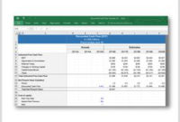 10 Dcf Model Template In Excel |Ex-Deloitte with Quality Business Valuation Template Xls