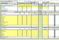 10 Free Household Budget Spreadsheets For 2020 | Budget throughout Quality Free Small Business Budget Template Excel