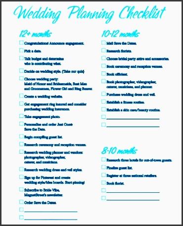 10 Planning A Wedding Checklist Example - Sampletemplatess throughout Fresh Wedding Venue Business Plan Template