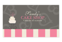 1,000+ Cake Decorating Business Cards And Cake Decorating inside Quality Cake Business Cards Templates Free