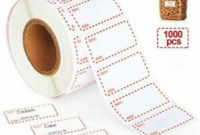 1000 Freezer Food Labels On Roll Self Adhesive Date Labels pertaining to Self Storage Business Plan Template
