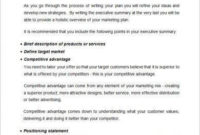11+ Marketing Strategy Business Plan Examples – Pdf, Word with Simple Startup Business Plan Template