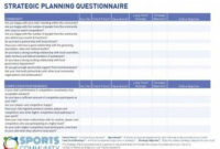 11+ Strategic Action Plan Examples – Pdf, Doc   Examples for Business Process Documentation Template