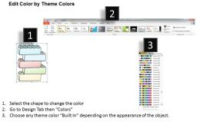 1113 Business Ppt Diagram Five Staged Business Process inside Business Process Modeling Template