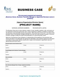 12 Best Business Case Template Images | Business Case throughout New How To Create A Business Case Template