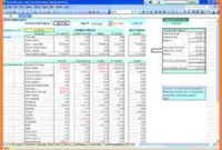 12+ Spreadsheet Examples For Small Business | Excel throughout New Simple Business Plan Template Excel