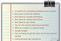 14 Best Remembering Dad Images On Pinterest | Great Ideas for Family Reunion Agenda Template