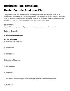 15 Best Simple Business Plan Template  Ex-Mckinsey within Template For Writing A Music Business Plan