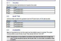 #15+ Requirements Document Template | Medical Resume Regarding Brd Business Requirements Document Template