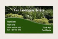 166 Best Landscaping Business Cards Images In 2020 pertaining to Landscaping Business Card Template