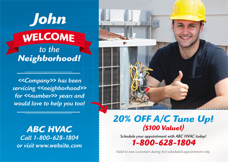 19 Brilliant Hvac Advertising & Marketing Direct Mail within Hvac Business Card Template