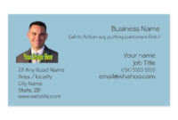 2 Sided Business Cards & Templates | Zazzle with Fresh Generic Business Card Template