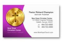 20 Best Business Cards For Pastors Images   Elegant inside Christian Business Cards Templates Free