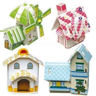 2018 3D Puzzle Diy Paper Model Kit Mini House Models for Self Storage Business Plan Template
