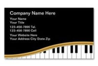 2150 Best Music Business Card Templates Images | Business intended for Fresh Business Cards For Teachers Templates Free