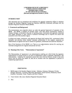 24 Printable Memorandum Of Agreement Template Forms within Fresh Template For Memorandum Of Understanding In Business