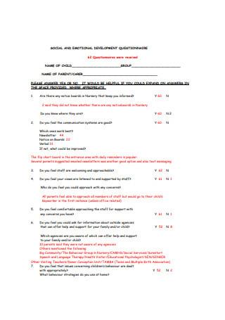 24+ Sample Business Development Questionnaire Templates In for Best Business Plan Questionnaire Template