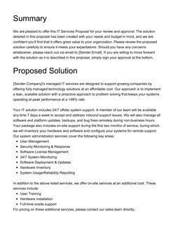 25 Business Service Proposal Template In 2020   Free in Business Sale Proposal Template