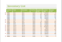 25 Inventory Spreadsheet Templates For Everyone   Templateinn with Grocery Store Business Plan Template
