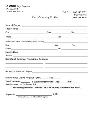 26 Printable Company Profile Template Forms - Fillable in Business Profile Template Free Download