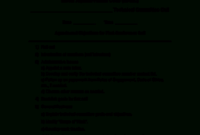 26 Printable First Meeting Agenda Sample Forms And with regard to Community Meeting Agenda Template