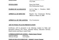 26 Printable Meeting Agenda Sample Forms And Templates regarding Sample Agenda Template For Board Meeting