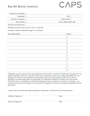 27 Printable Business Inventory Forms And Templates regarding Best New Hire Business Case Template